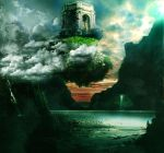 Floating Temple by Trehee