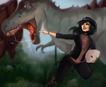 The Dinosaur Queen by revois