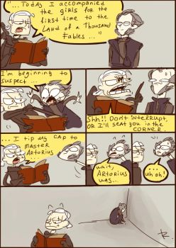The Witcher 3, doodles 84 by Ayej