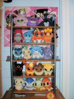 New Pokemon Pokedoll Shelf by Jessie-Grace