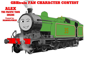 FC CONTEST ENTRY (Alex the Pacific Tank Engine) by pootissandvich