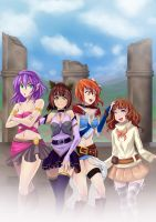 Melancholic fantasy group by opcrom
