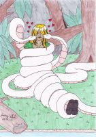 Jackie Swift: Snake Love by Branded-Curse