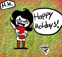 TT: Happy Holidays by Artistic-Doll