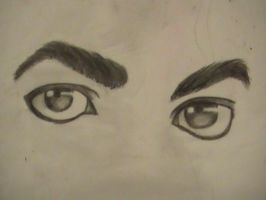 Michael 'Bad' eyes by LordessofDragons