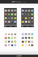 APP ICONs For Android by dstyler