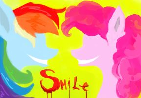 Come on and smile! by Lady-Holdren