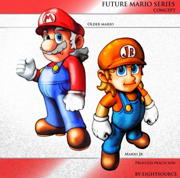 Future smc4 and mario Concepts By by littlefoot21676767