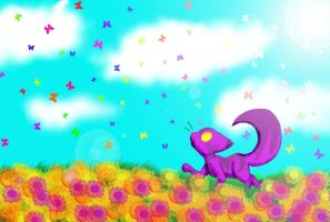 Chesh in the Spring by cheshire-cat-tamer