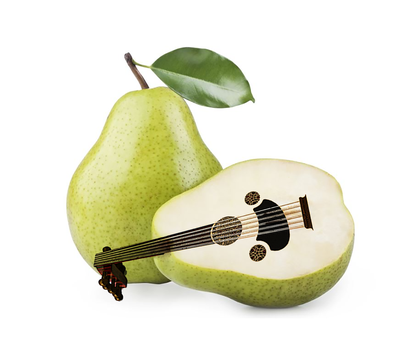 Pear music fruit by hicmoul
