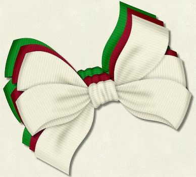 Christmas Bows 5 by PhotoImpactPixels
