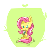 Fluttershy by kty159