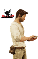 Nathan Drake - Render 16 by snakeff7