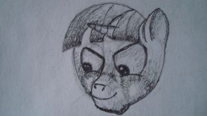 Twilight head sketch1 by gremlin81