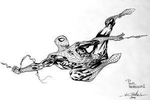 Captain America 2 DnD Dammarie - Spidey sketch by SpiderGuile