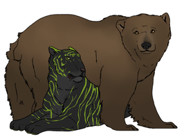 Bear and Tiger Commission by GetResults