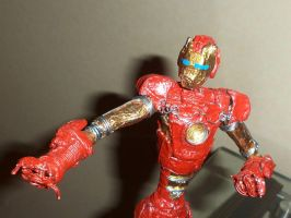 FINISHED IRON MAN in wire IV W/helmet by TheWallProducciones