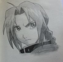 Edward Elric by luvfma