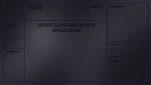 NightClan Application Reference by ShadowcIaw