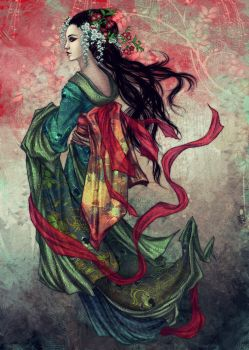 Geisha by vinegar