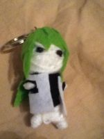 N Harmonia Unfinished String Puppet Keychain!! by J0DaNc3r