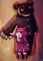 Annie and Tibbers: LoL by PikanyaFox