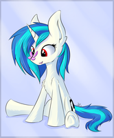 Vinyl Scratch by WolfyPon