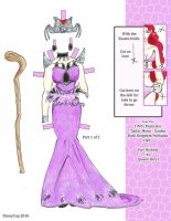 Queen Baryl Musical Dress 1 by TennyCap