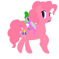 :RE: Pinkie and Spike by annabre24
