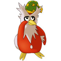 Delibird Shaded by SociallyAwkwardShya
