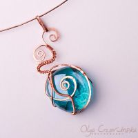 Turquoise and copper by OlgaC