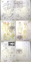 Sketchbook Pages Sale 2 [SOLD] by Aka-Shiro