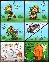 Link and the Takkuri by TheGreenDragonGirl