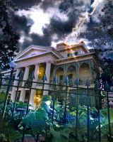 The Haunted Mansion by adamtaula