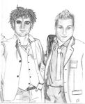 Billie Joe and Tre Cool by Twilight-05