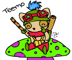League Of Legends - Teemo by dcheeky-angel