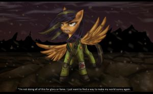 CE: Scootaloo the last pony by Amirah-the-cat