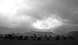 standing stones by RickHaigh