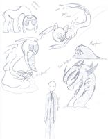 Creature Sketches 1 by SiftStone