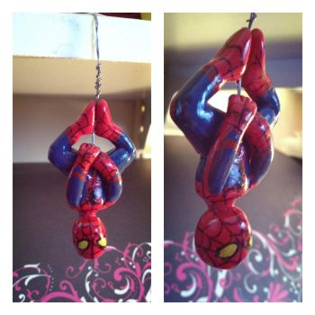 Upside Down Spider-man by Alexia33024
