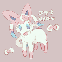 sylveon by chloedork