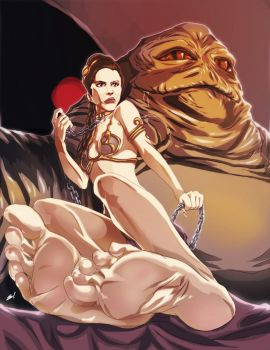 Slave Leia - Special Edition by scamwich