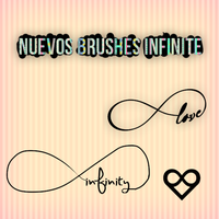 Nuevos brushes infinite love by solochiquitita