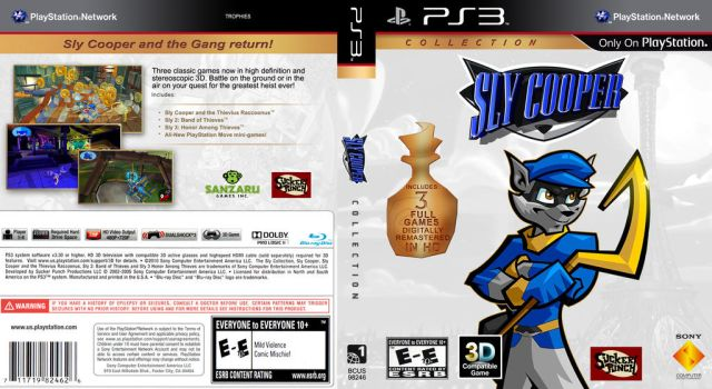 Sly Cooper Collection by JoseOmatic