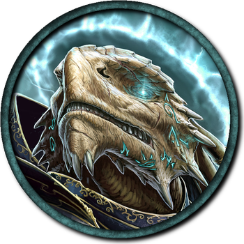 Token: Dragon Paladin by Leah-Lockheart