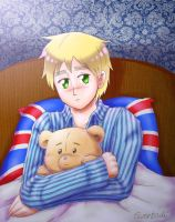 APH: Iggy is ill again... by Eeveetachi