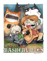 cats of the baskervilles by katiecandraw