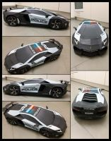 Lamborghini Aventador collage by Draconis1609