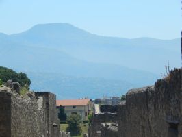 Vesuvius in the Distance by ChaseStarlit