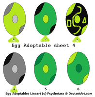 free Egg Adoptable sheet 4 by woofwoofsg1